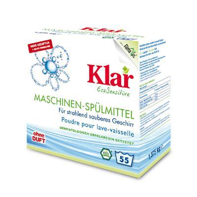 Купить Порошок для посудомоечной машины гипоаллергенный (1,375 кг) klar