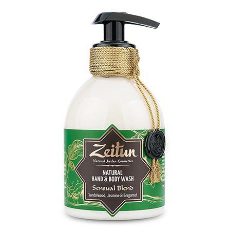 Купить Жидкое мыло зейтун для рук и тела