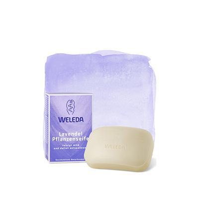 Купить Лавандовое растительное мыло weleda