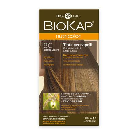 Купить Стойкая натуральная крем-краска для волос biokap nutricolor (цвет светлый блондин) biosline