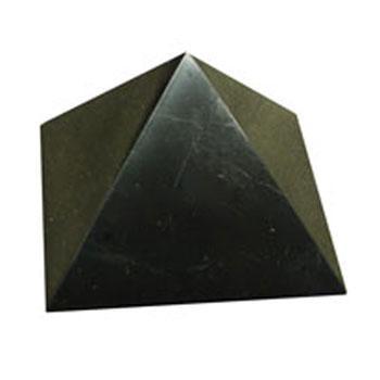 Купить Пирамида полированная 10 см шунгит