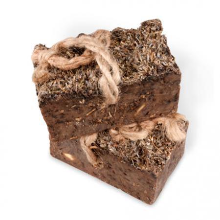 Купить Алеппское мыло зейтун премиум №1 — скраб с лавандой