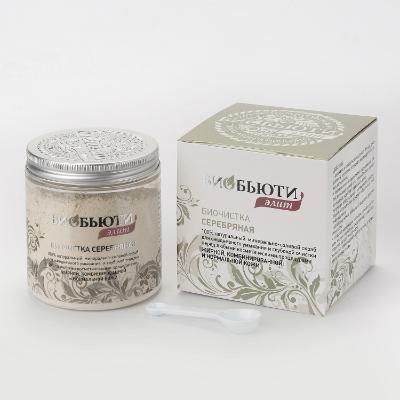 Купить Биочистка серебряная для жирной, комбинированной и нормальной кожи (200 гр) биобьюти