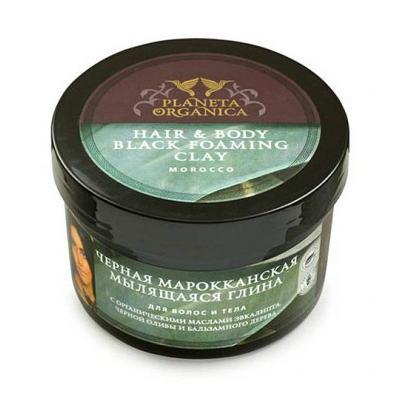 Купить Мыло для волос и тела мылящаяся глина planeta organica