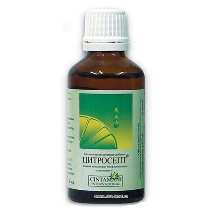Купить Цитросепт натуральное растительное средство 50 мл