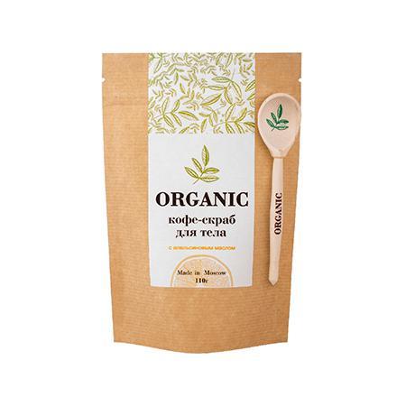 Купить Кофе скраб для тела 110 гр organic