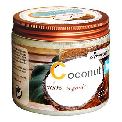 Купить Масло кокоса для кожи и волос organic aromelle