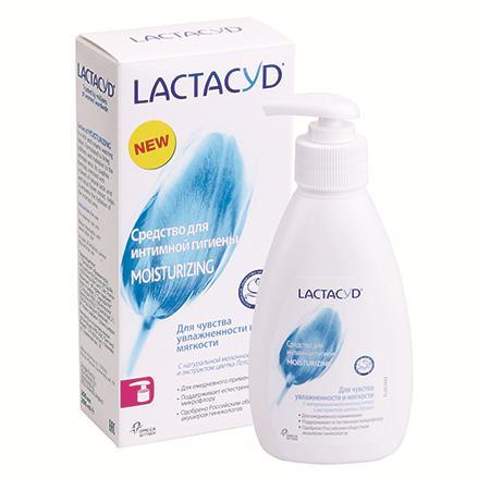 Купить Лактацид фемина средство для интимной гигиены moisturizing