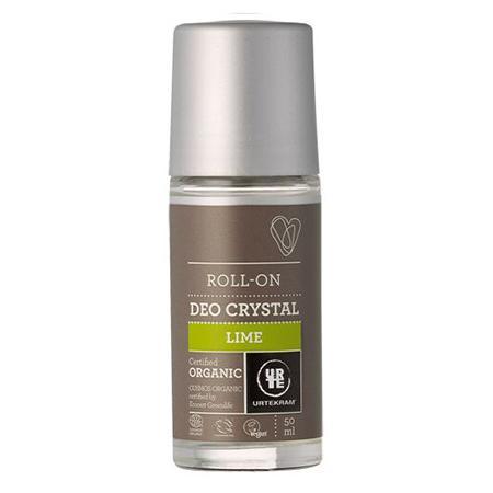 Купить Шариковый дезодороант-кристалл лайм urtekram