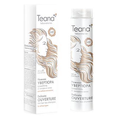 Купить Шампунь от потери волос с мультивитаминным комплексом и листьями адиантума teana