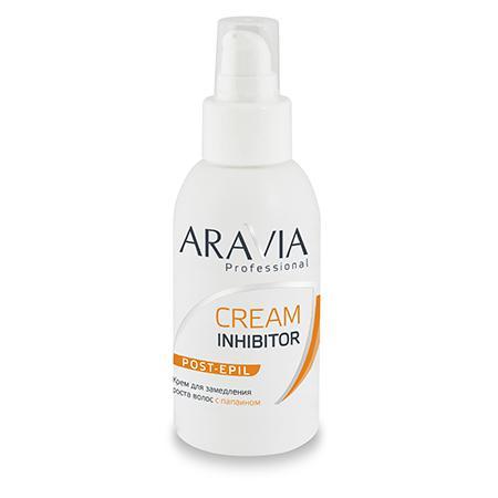 Купить Крем для замедления роста волос с папаином aravia professional