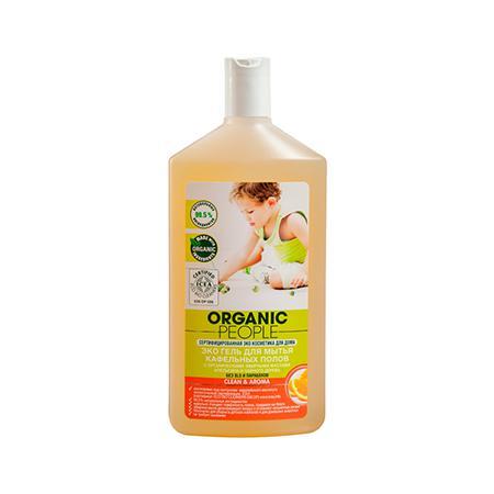 Купить Эко гель для мытья кафельных полов clean&aroma organic people