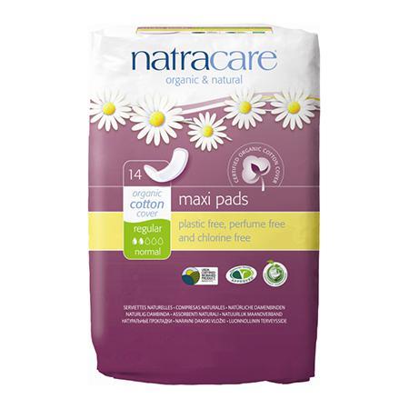 Купить Натуральные женские прокладки natural pads curved natracare
