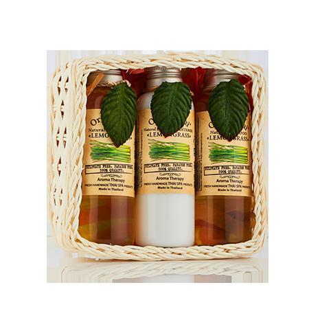 Купить Набор средств для волос и тела «лемонграсс» (360 мл) organic tai