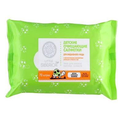 Купить Детские очищающие салфетки natura siberica (72 шт)