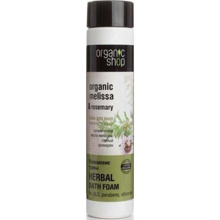 Купить Пена для ванн, для упругости кожи «прованские травы» organic shop