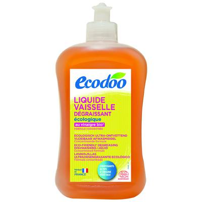 Купить Средство для мытья посуды с уксусом ecodoo