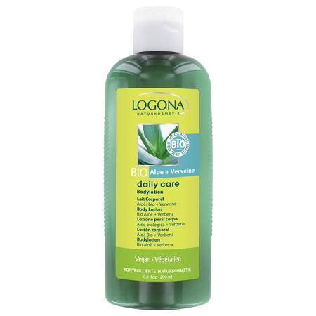 Купить Лосьон для тела с био-алоэ и вербеной daily care logona