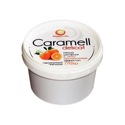 Купить Шугаринг caramell delicat антицеллюлитный (770 гр) pranastudio