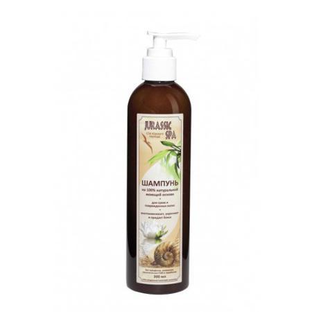 Купить Натуральный шампунь для сухих и поврежденных волос jurassic spa