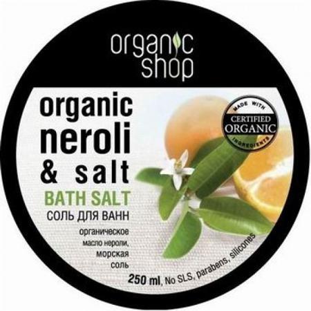 Купить Соль для ванн «цветы апельсина» organic shop