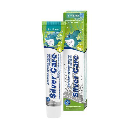 Купить Зубная паста с серебром для детей от 6 до 12 лет silver care