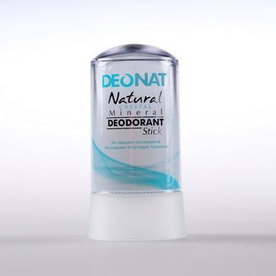 Купить Минеральный дезодорант кристалл чистый стик 60 гр deonat