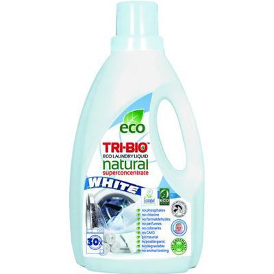 Купить Натуральная эко-жидкость для стирки белого белья 1,42л tri - bio
