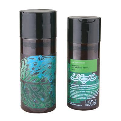 Купить Шампунь мята для укрепления жирных волос зейтун