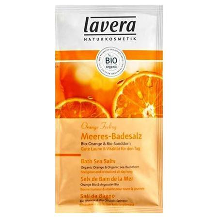 Купить Морская соль для принятия ванн «апельсиновые чувства» lavera