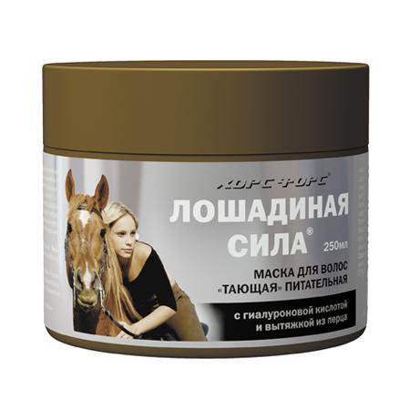 Купить Маска для волос «тающая» питательная «лошадиная сила» хорс форс