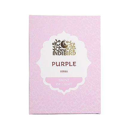 Купить Аюрведическая краска на основе индийской хны пурпурная амрита