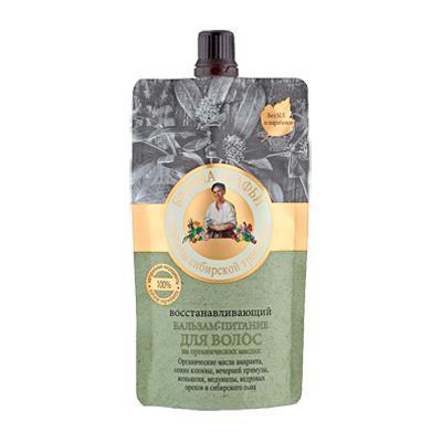 Купить Бальзам-питание для волос восстанавливающий рецепты бабушки агафьи
