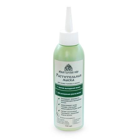 Купить Растительная маска против потери волос и для ускорения роста новых волос клеона