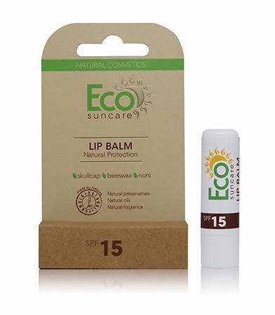 Купить Натуральный солнцезащитный бальзам для губ spf 15 eco suncare