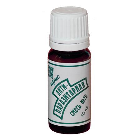 Купить Смесь эфирных масел №26 антипаразитарная iris