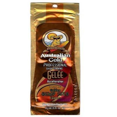 Купить Gelee accelerator усилитель загара с экстрактом семян конопли 15 мл. australian gold