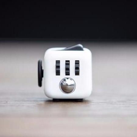 Купить Антистресс кубик белый fidget cube