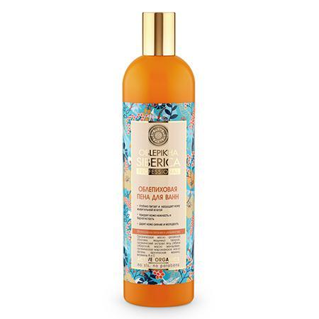Купить Облепиховая пена для ванн интенсивное питание и увлажнение oblepikha natura siberica