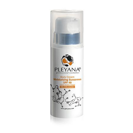 Купить Солнцезащитный увлажняющий крем для тела spf 40 pleyana