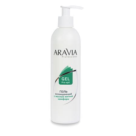 Купить Гель охлаждающий с маслом мятной камфоры aravia professional