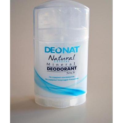 Купить Минеральный дезодорант кристалл чистый стик плоский twistup 100 гр deonat