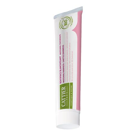 Купить Зубная паста эриден отбеливающая для чувствительных десен (75 мл) cattier