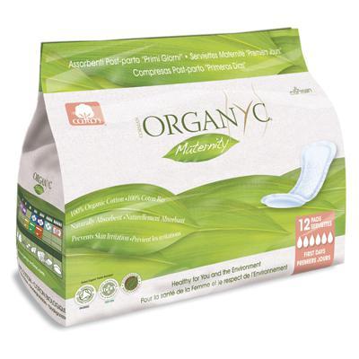 Купить Прокладки для рожениц для первых дней organyc