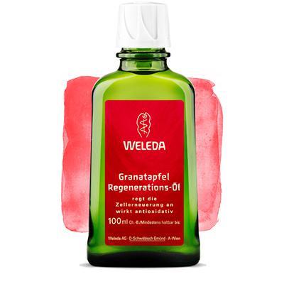 Купить Гранатовое восстанавливающее масло для тела weleda