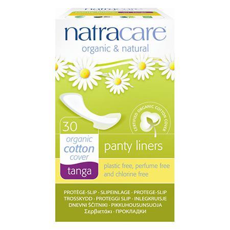 Купить Натуральные женские прокладки panty liners tanga natracare