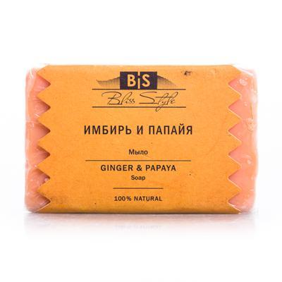 Купить Аюрведическое мыло имбирь и папайя амрита