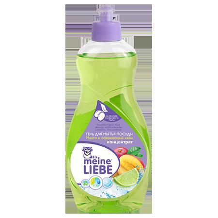 Купить Гель для мытья посуды манго и освежающий лайм meine liebe