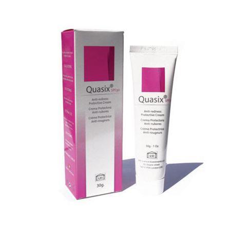 Купить Квазикс - эффективное средство для лечения розацеа, демодекоза и себорейного дерматита (для чувствительной кожи))