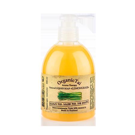 Купить Натуральное жидкое мыло «лемонграсс» organic tai